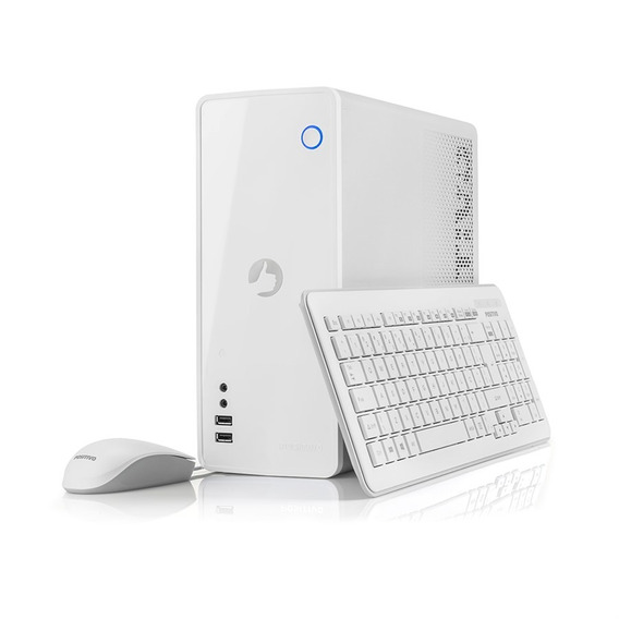 Computador Station C4500a Celeron Windows 10 Home - Branco