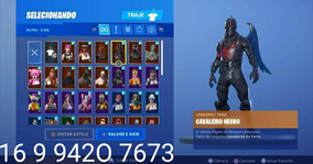 Comta Fortnite Season 2 Cavaleiro Negro + Stw Level 122