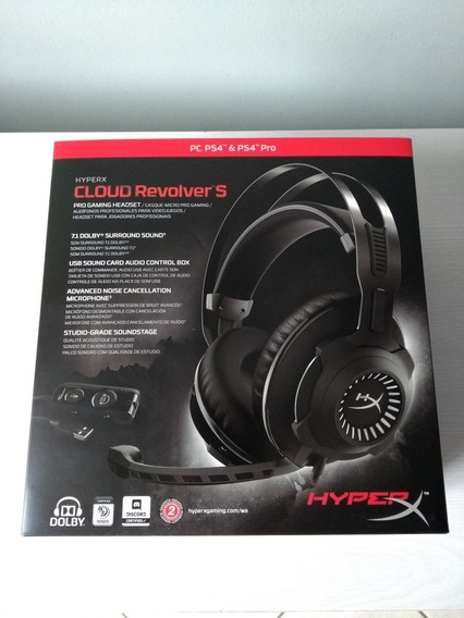 Headset Hyperx Cloud Revolver S 7.1