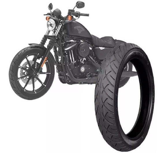 Pneu 100/90-19 Shadow 600 Harley Xl1200 Technic Dianteiro