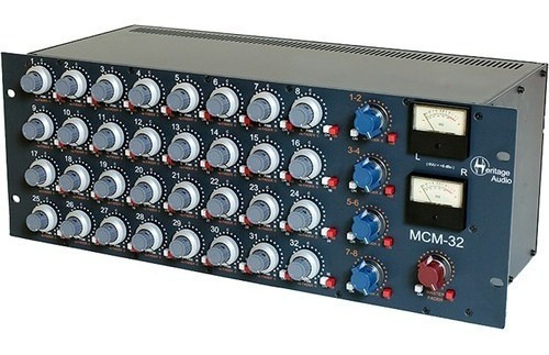 Heritage Audio Mcm-32 Analog 32-channel Summing Mixer