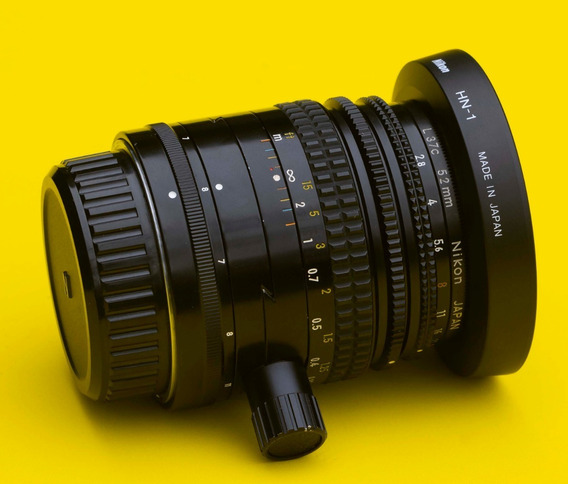 Lente Nikon 35mm 2.8 Pc Ai