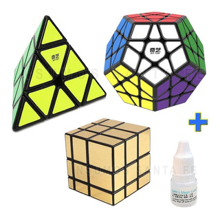 Cubo Rubik Pack Megaminx Mirror Pyraminx - Ver Variantes