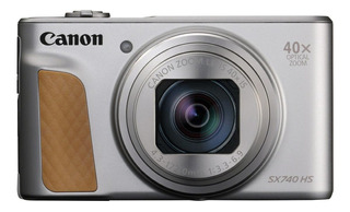 Canon PowerShot SX740 HS compacta avanzada plateada