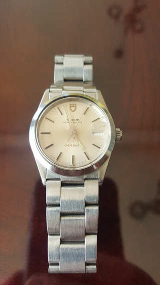 Tudor Rolex Prince Quartz 9150 80s Acero