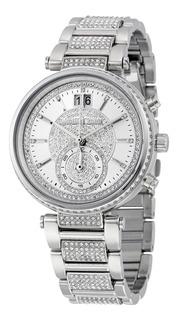 Relógio Michael Kors Sawyer Prata - Mk6281/1kn