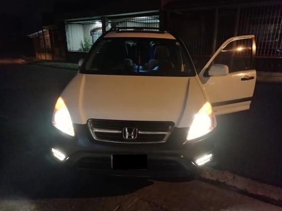 Honda Crv 2004 Blanco En Excelente Estado
