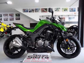 Kawasaki Z1000 Verde 2015
