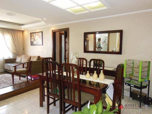 Apartamento Com 2 Dormitórios À Venda, 90 M² Por R$ 290.000,00 - Vila Tanque - São Bernardo Do Campo/sp - Ap1144