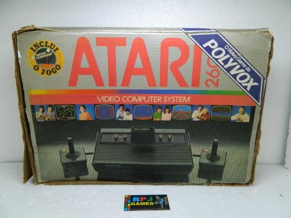 Caixa Vazia Atari 2600 Valorize Seu Video Game - Loja Rj &&