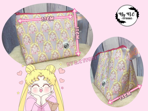 Cartuchera Porta Cosméticos Neceser Sailor Moon Usagi Anime