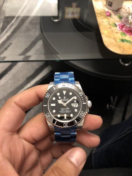Relógio Submarino Vidro De Safira