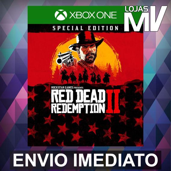 Red Dead Redemption 2 Especial - Xbox One Código 25 Dígitos