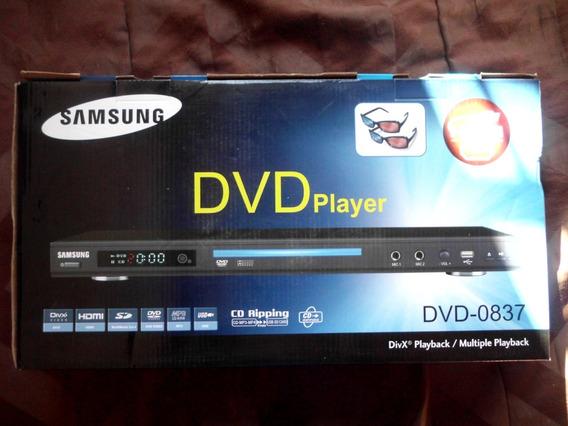 Reproductor Dvd 3d Samsung Con Lentesnuevo Caja30 Preguntar