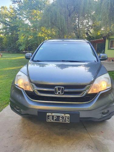 Honda Cr-v 2.4 Ex L At 4wd 2010