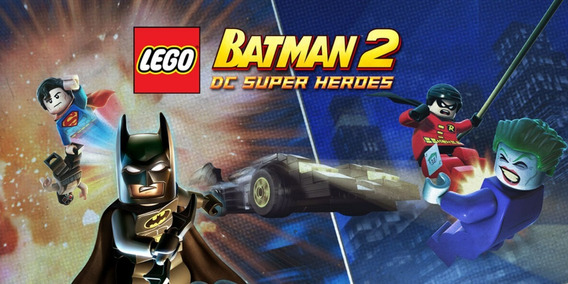 Lego Batman 2: Dc Super Heroes Steam Key 100% Original Pc