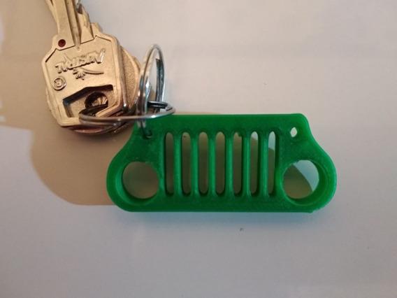 Llavero De Parrilla Jeep, 5cm, Carros, Impresión 3d, Auto