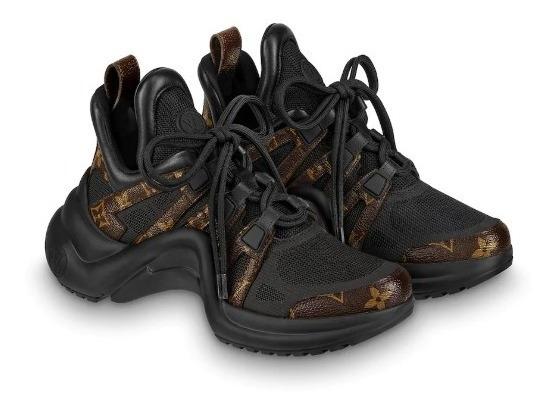 Zapatillas Tenis Louis Vuitton Archlight Mujer Original