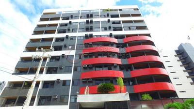 Apartamento 110m², 3 Quartos, 2 Suítes, 2 Vagas, Ponta Verde, Maceió, Al - 1354