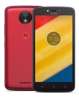 Motorola Moto C Plus - 16gb - Smartphone Metallic Cherry