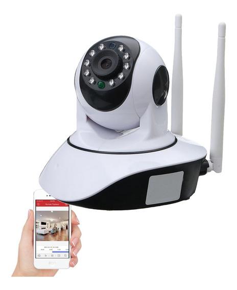 Camara Ip Wifi P2p Hd 720p Vision Nocturna 2 Antenas