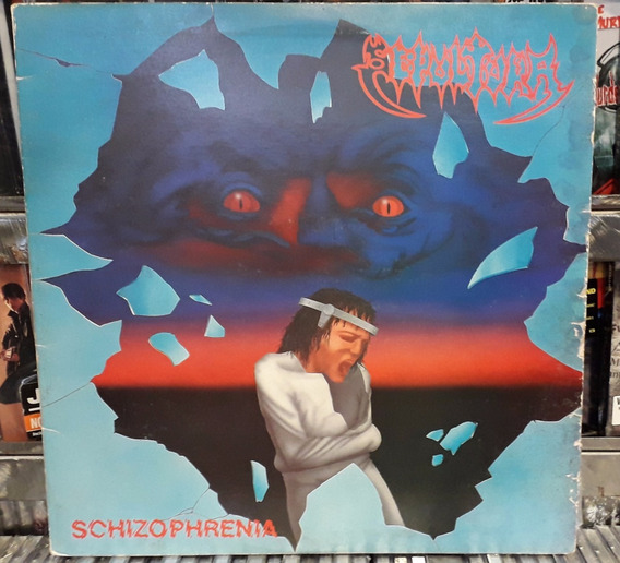 Lp Sepultura - Schizophrenia - (1987)