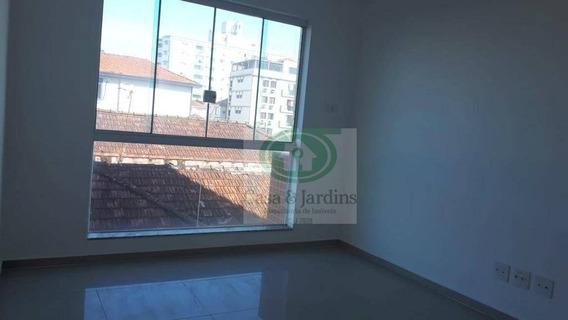 Novo S/ Uso, Pronto P/ Morar - 2 Dormits (suite) - Campo Grande - Santos - Ap5945