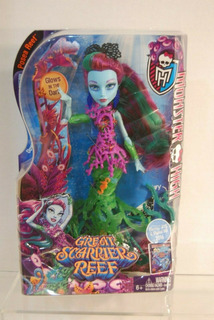 Monster High Great Scarrier Reef Posea Reef 11 \ Muñeca Nu