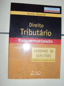 Direito Tributário Esquematizado: Caderno De Qu (sebo Amigo)