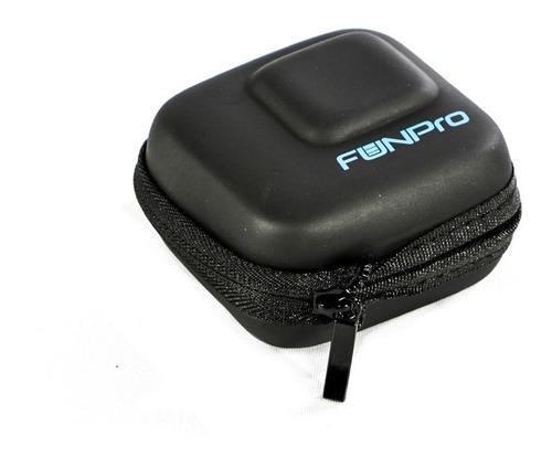 Mini Case Funpro Para Gopro Hero 5 6 7 Black White Silver