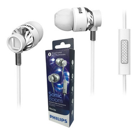 Fone De Ouvido Philips She5305 Sonic Boom Bass C/ Microfone