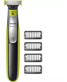 Barbeador Aparador Philips Oneblade Qp2530/10 Com 4 Pentes