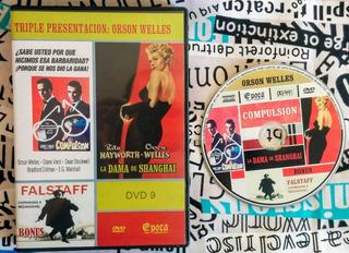 Orson Welles : 3 Películas - Original