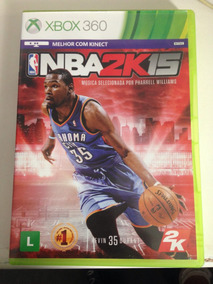 Nba 2k15 Xbox 360 Completo Impecável Microsoft R$99