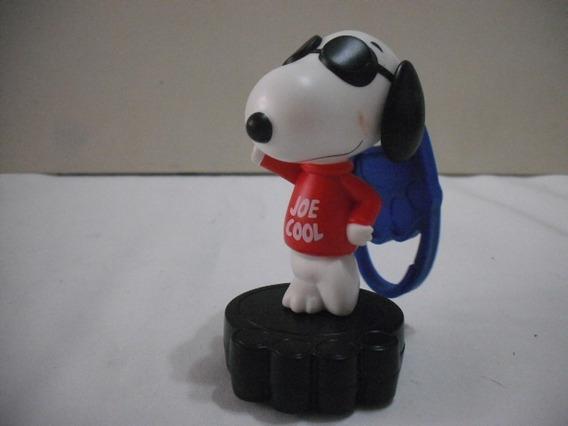 Boneco Snoopy Joe Cool Chaveiro 10 Cm Usado Bom Estado