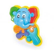 Rompecabezas Calesita 3d Animal Puzzle Elefante Promo