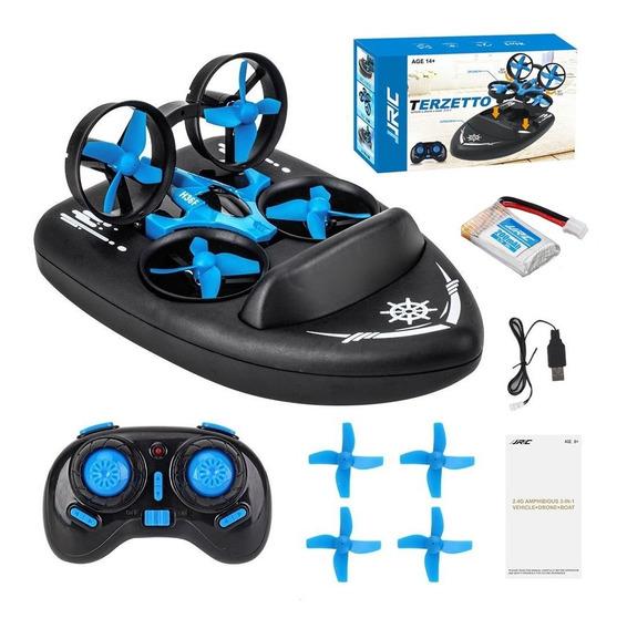 Mini Drone/lancha/carro Jjrc H36f Terzetto 3 Em 1 -envio 24h
