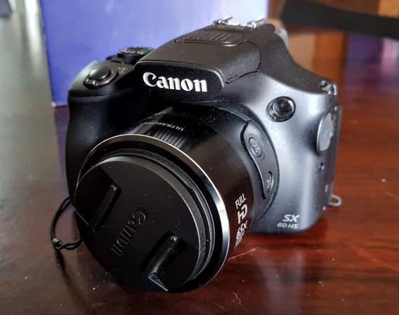 Câmera Superzoom Sx60s Canon Com Bolsa Impermeável Brinde