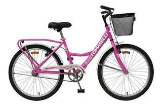 Bicicleta Tomaselli Lady Rodado 24 Mujer