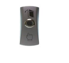 Botao De Saida Inox C/ Caixa De Sobrepor Prata - Automatiza