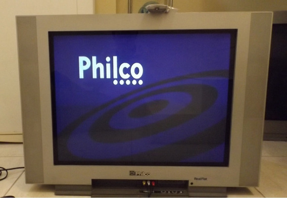 Tv 29 Tubo Philco + Controle Original Usada