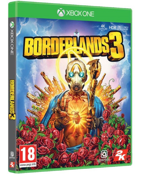 Game Borderlands 3 Xbox One Disco Fisico Novo Português Br