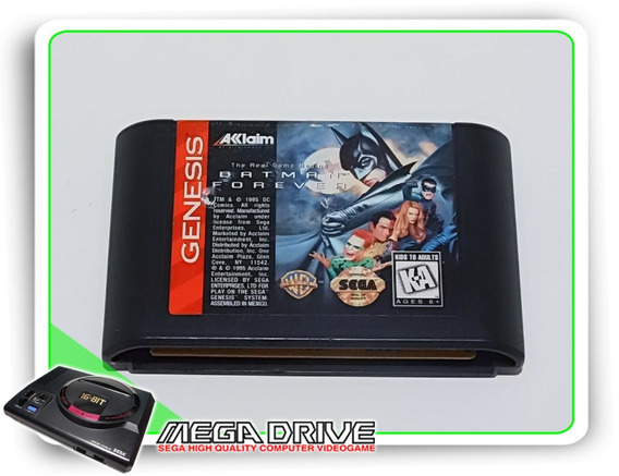 Batman Forever Original Sega Mega Drive/genesis