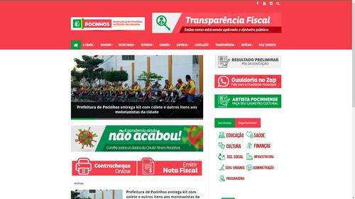 Imagem 1 de 3 de Criação De Portal De Notícias Profissional