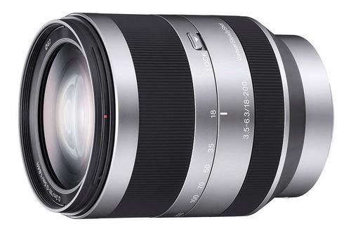 Lente Sony Zoom E 18-200 Mm F3.5-6,3 Oss | Sel18200