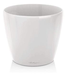Maceta Blanca Brillante Plastica Premium N°18