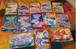 Lote De 13 Postales De Pokemon Año 1995