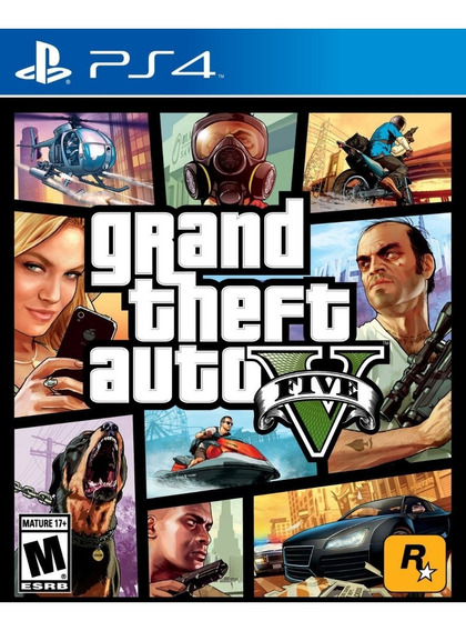 Grand Theft Auto 5 - Gta V - Para Ps4 - Digital - Promoción