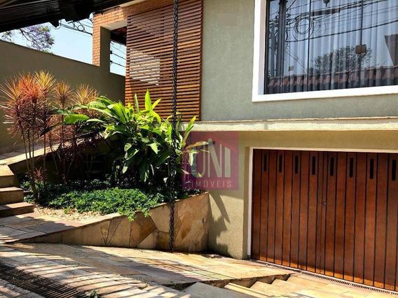 Sobrado Com 3 Dormitórios À Venda, 224 M² Por R$ 780.000 - Parque Das Nações - Santo André/sp - So0665