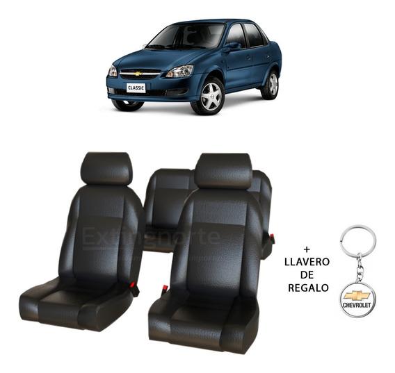 Juego Completo Fundas Asiento Cuero Chevrolet Corsa Classic